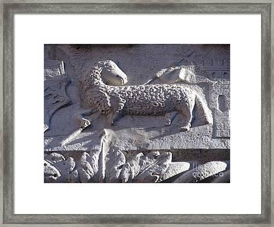 Agnus Dei Framed Print by Riccardo Mottola