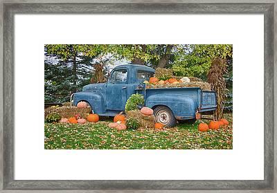Ahh, Autumn Framed Print by Guy Whiteley