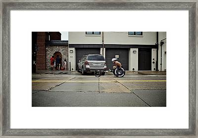 Ai 6 Framed Print by Patrick Biestman
