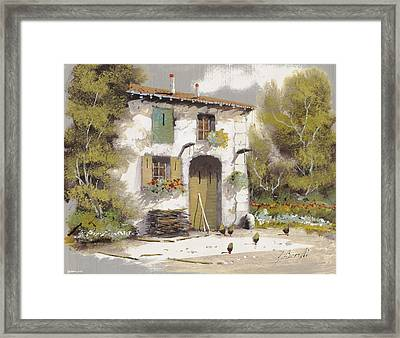 AIA Framed Print by Guido Borelli