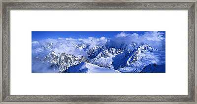 Aiguille Du Plan Alps France Framed Print by Panoramic Images