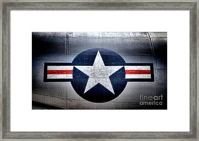 Air Force Framed Print by Olivier Le Queinec