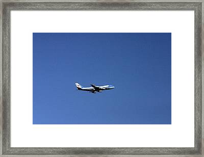 Air Force One Framed Print by Duncan Pearson