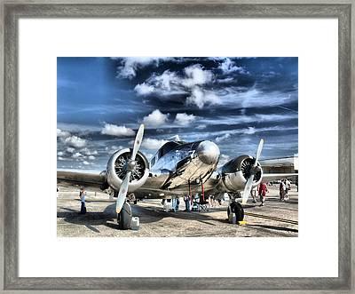 Air Hdr Framed Print by Arthur Herold Jr