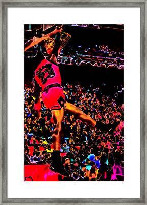 Air Jordan 04 Framed Print by Brian Reaves