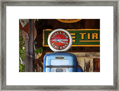 Aircraft Fuel Pump Framed Print by Art Block Collections