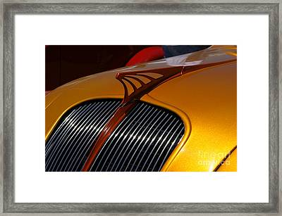 Airflow Framed Print by David Pettit
