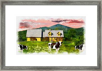 Al Fresco Dining Framed Print by Anthony Caruso