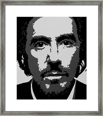 Al Framed Print by Ian  King