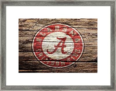 Alabama Crimson Tide Framed Print by Brian Reaves