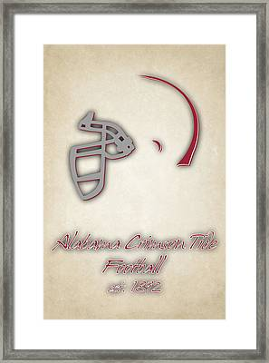 Alabama Crimson Tide Helmet 2 Framed Print by Joe Hamilton