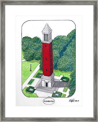 Alabama Framed Print by Frederic Kohli