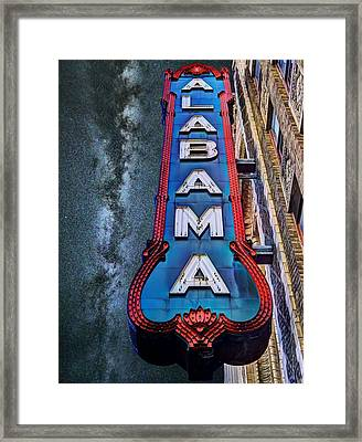 Alabama Framed Print by JC Findley