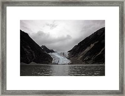 Alaska Glacier 2 Framed Print by Madeline Ellis