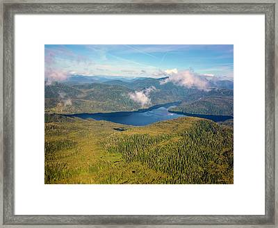 Alaska Overview Framed Print by Madeline Ellis