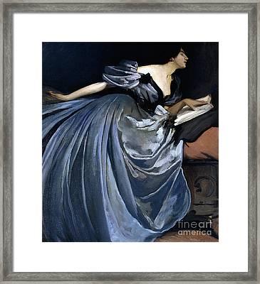 Alathea Framed Print by John White Alexander