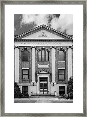 Albany College Of Pharmacy O' Brien Building Framed Print by University Icons