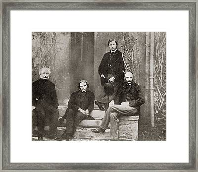 Albert Edward, Prince Of Wales, Future Framed Print by Vintage Design Pics