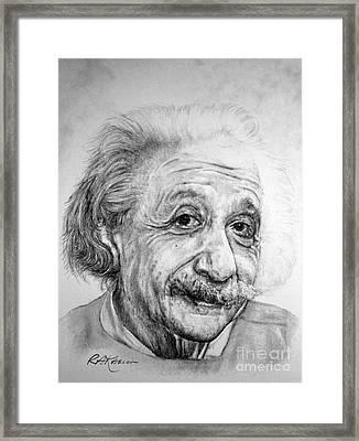 Albert Framed Print by Roy Anthony Kaelin