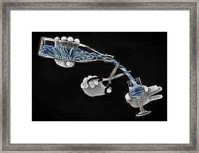 Alcohol-free Framed Print by Mister Solo