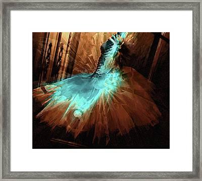 Alessandra's Dress Framed Print by Molly McPherson