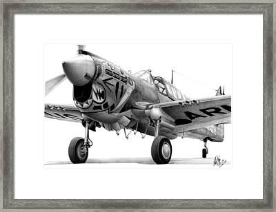 Aleutian Tiger Framed Print by Lyle Brown