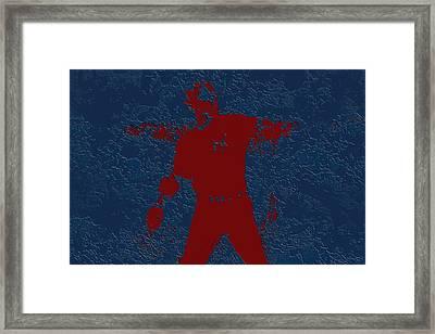 Alex Rodriguez 3b Framed Print by Brian Reaves