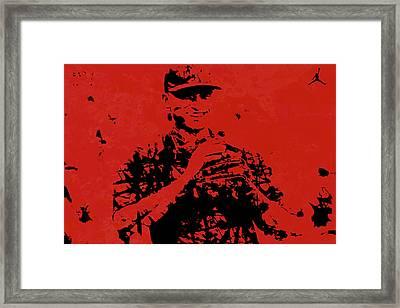 Alex Rodriguez J1 Framed Print by Brian Reaves