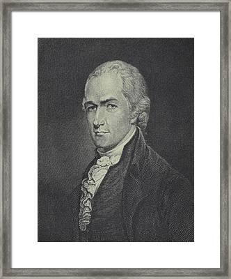 Alexander Hamilton Framed Print by Archibald Robertson