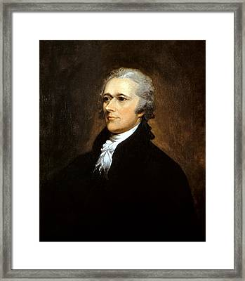 Alexander Hamilton Framed Print by War Is Hell Store