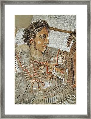 Alexander The Great Framed Print by Roman School