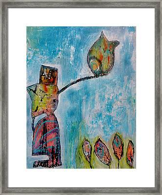 Alexander's Bird Framed Print by Jenn Ashton