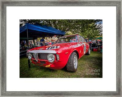Alfa Romeo Sprint Gt Framed Print by Adrian Evans