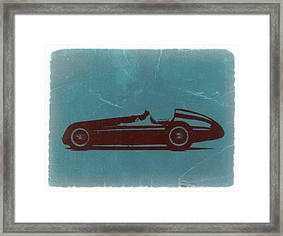 Alfa Romeo Tipo 159 Gp Framed Print by Naxart Studio