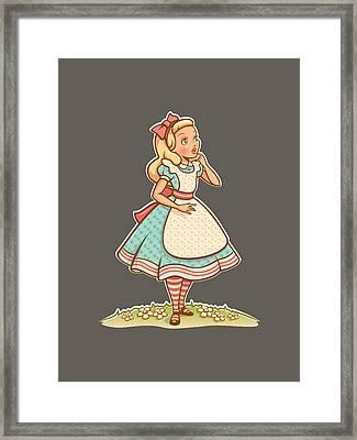 Alice Framed Print by Elizabeth Taylor