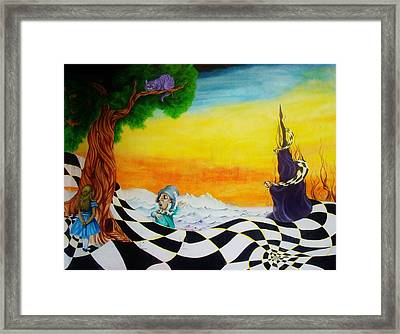 Alice In Wonderland Framed Print by Ben Christianson