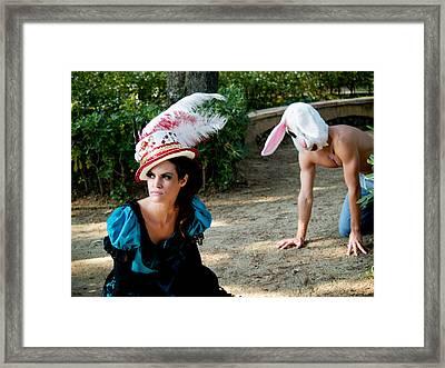 Alice Framed Print by Jim DeLillo