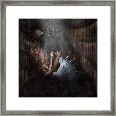 Alice Framed Print by Karen Alsop
