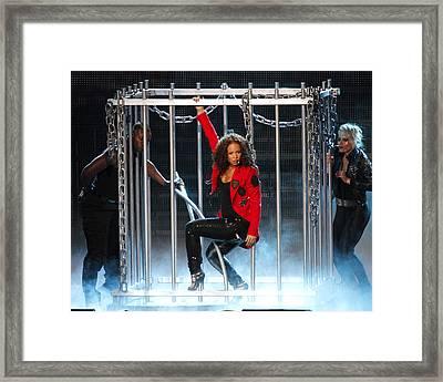 Alicia Keys Uncaged Framed Print by Steven Sachs