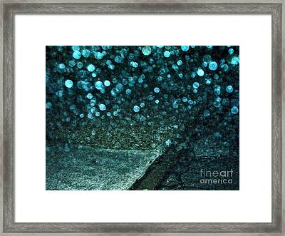 Alien Bubble Invasion Framed Print by Chuck Taylor
