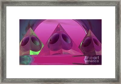 Alien Eyes Framed Print by Alan Thwaites