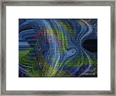 Alien Framed Print by Kathie Chicoine