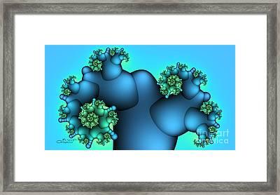 Alien Plant Framed Print by Jutta Maria Pusl