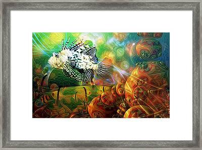 Alien  World  Framed Print by Snook R