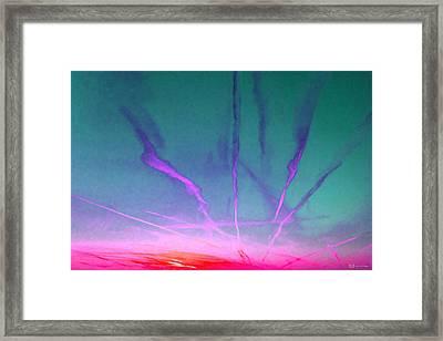 Alien Worlds - Fusion Sunrise Framed Print by Serge Averbukh