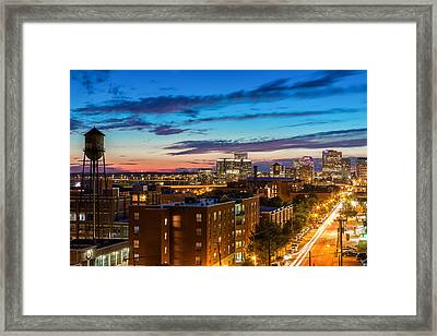 Alive At Night Framed Print by Tim Wilson