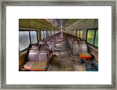 All Aboard The Ghostly Express Framed Print by David Patterson