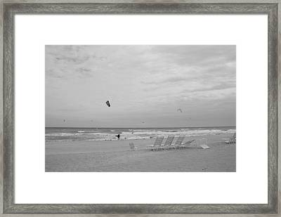 All Alone Framed Print by Rob Hans