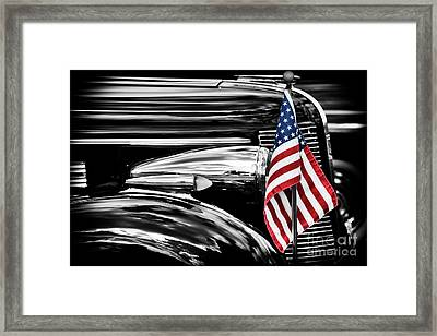 All American Buick Framed Print by Tim Gainey
