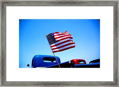 All American Framed Print by Ralph Vazquez